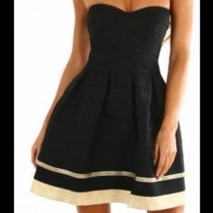 SANS SOUCI - Strapless Mini Dress